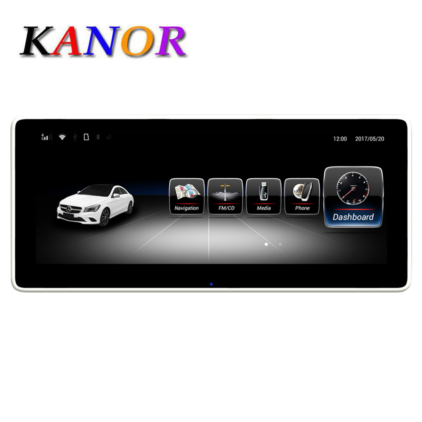 KANOR 3G RAM 10.25 Android display for Mercede Benz CLA GLA A Class W176 2013-2018 GPS Navigation radio stereo dash multimedia KANOR 3G RAM 10.25 Android display for Mercede Benz CLA GLA A Class W176 2013-2018 GPS Navigation radio stereo dash multimedia