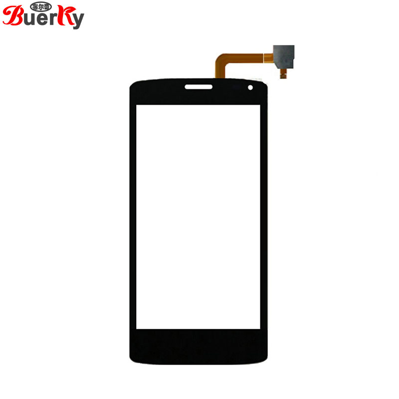 BKparts 100% Tested 5pcs Touch screen For Fly Era energy 3 IQ4417 Touchscreen glass panel Digitizer Replacement Free shipping