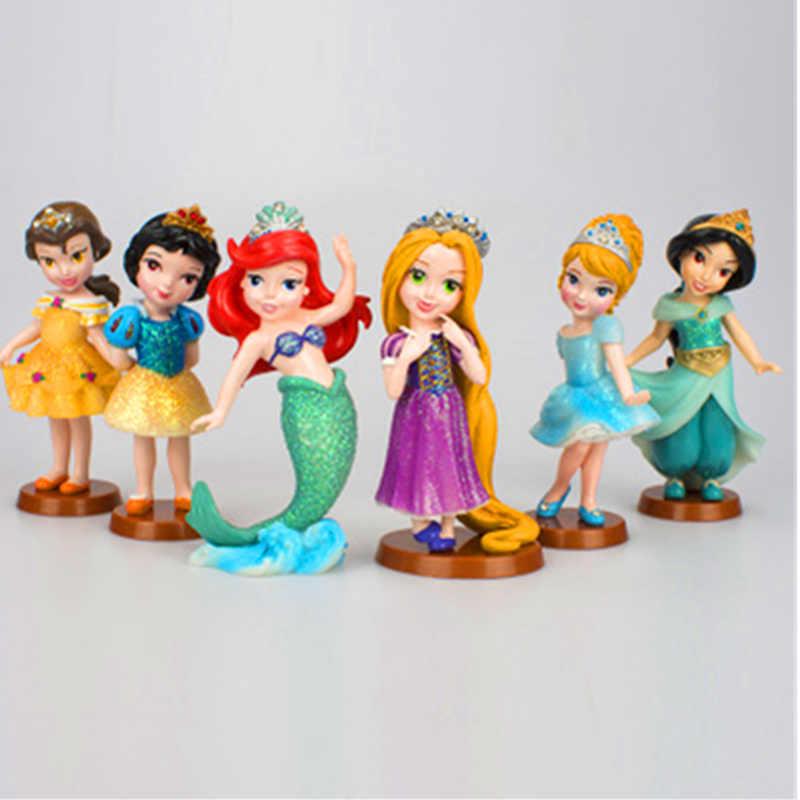 Detail Feedback Questions about 6 PCS/Lot Princess Dolls Cinderella