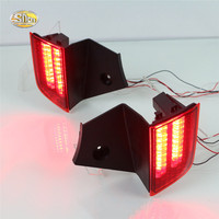 SNCN LED Rear Lights For Mitsubishi Pajero Sport 2015 2016 LED Car Rear Bumper Reflector Driving