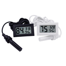 Hygrometer Wire-Humidity-Meter Pet-Reptile-Tank Mini with YS-12 Digital Electronic 2in1