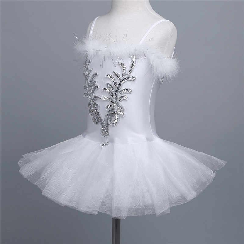 Балетное платье для девочек балетная пачка с блестками балерина трико для танцев на тонких бретельках бисерные перчатки заколка для волос
