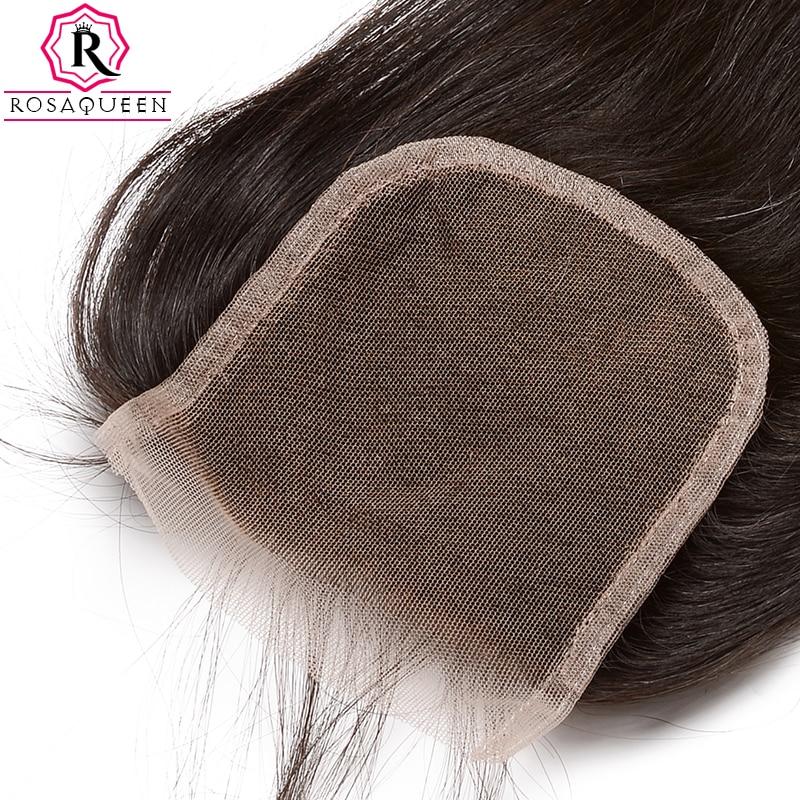 Dolago čipke zaprtje z otroškimi lasmi naravnost Remy las naravne - Človeški lasje (za črne) - Fotografija 6