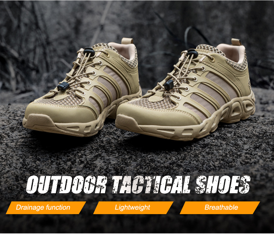 Men's Outdoor Tactical Hiking Shoes Combat Military Tactical Boots