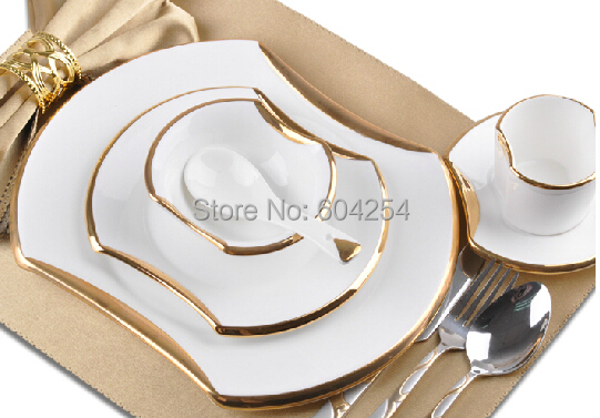 2015 Fashion 6 Piece Western Plate Steak Tableware Dish