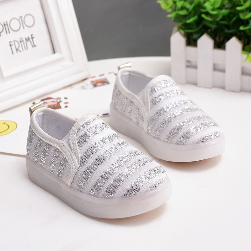 children casual shoes for girls/boys spring sneaker kids baby fashion single shoes little child lighted sports shoes