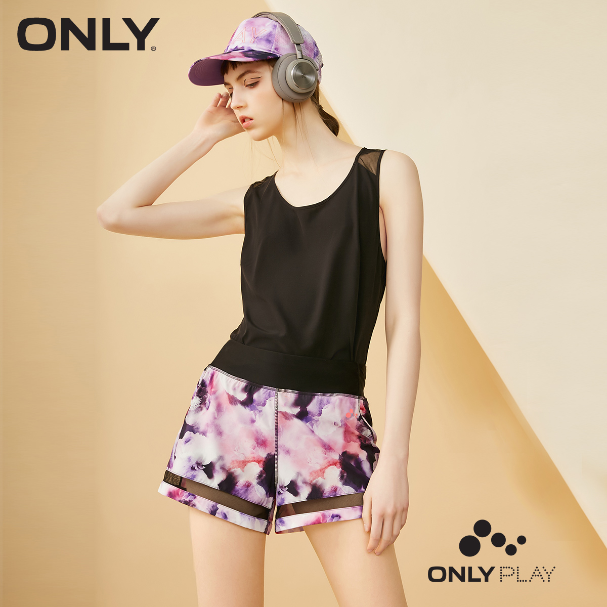 ONLY PLAY Moisture-wicking Gauzy   Shorts   |118215504