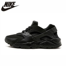 купить Nike Huarache Run GS Original Women Running Shoes Lightweight Breathable Outdoor Sports Sneakers  #654275 по цене 5517.44 рублей