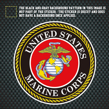 Image is loading Scrapbooking-Crafts-3D-Stickers-Paper-House-Marine-Corps-