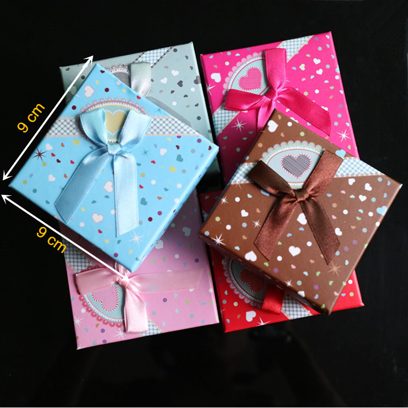 6pcs lot jewelry christmas big gift boxes bracelet packaging display