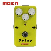 Moen AM DL Pedal True Bypass Design Delay Blend Repeat Time Control Electric Guitar Effect Pedal