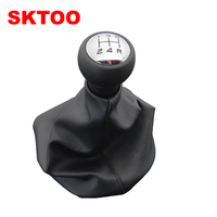 SKTOO Car Manual 5 Speed Gear Stick Shift Cover Handle Shifter Lever For Peugeot 206 306