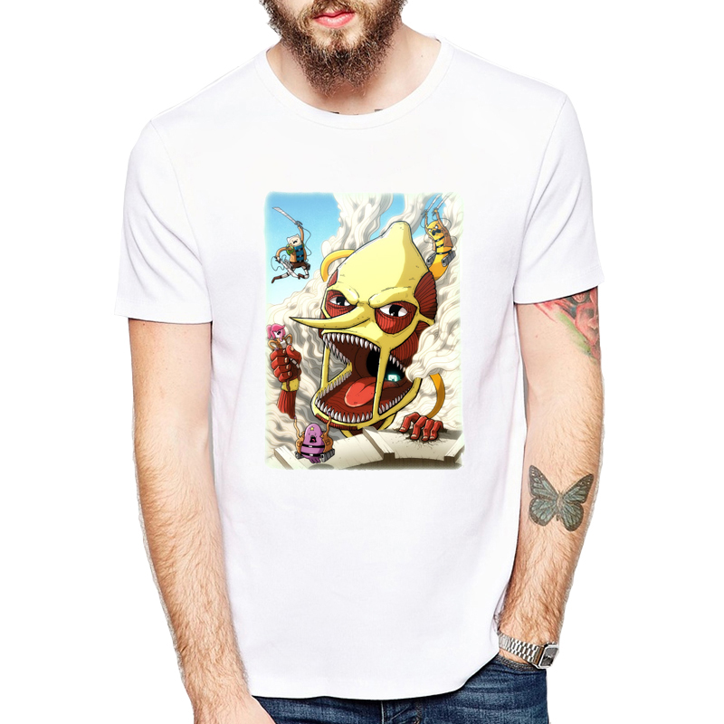 Anime Attack on Titan T-shirt Fancy shirt Attack on Titan fashion short-sleeve T-shirt men tshirt summer