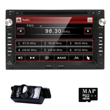"2DIN 7 ""capacitiva pantalla táctil Del Coche DVD Reproductor de Video Para Volkswagen VW Jetta Polo Bora Golf 4 Passat B5 Radi 3G"
