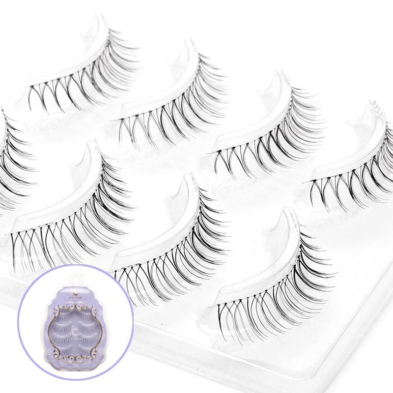 Image 3 - ICYCHEER Japanese Natural Style False Eyelashes Makeup Ultra Light Air Lashes Extension Handmade Soft Upper and Lower Eyelashes-in False Eyelashes from Beauty & Health