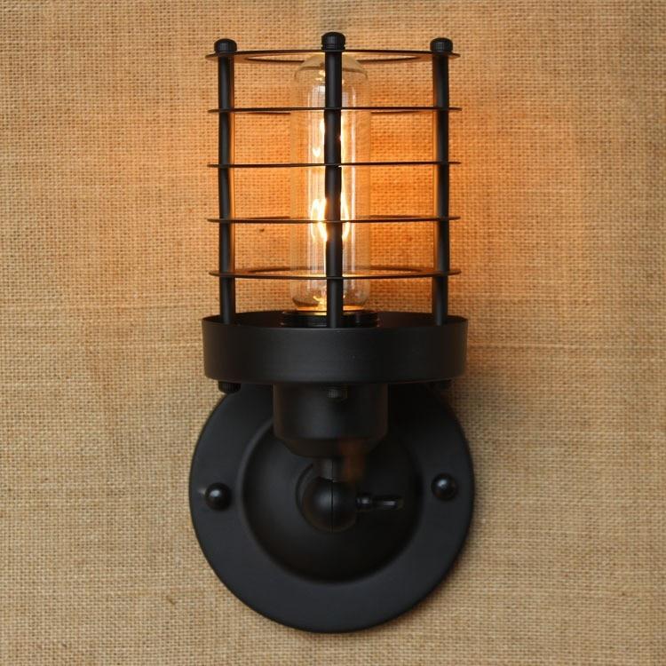 Nástěnné lampy amerického průmyslu nástěnné lampy Retro - Vnitřní osvětlení