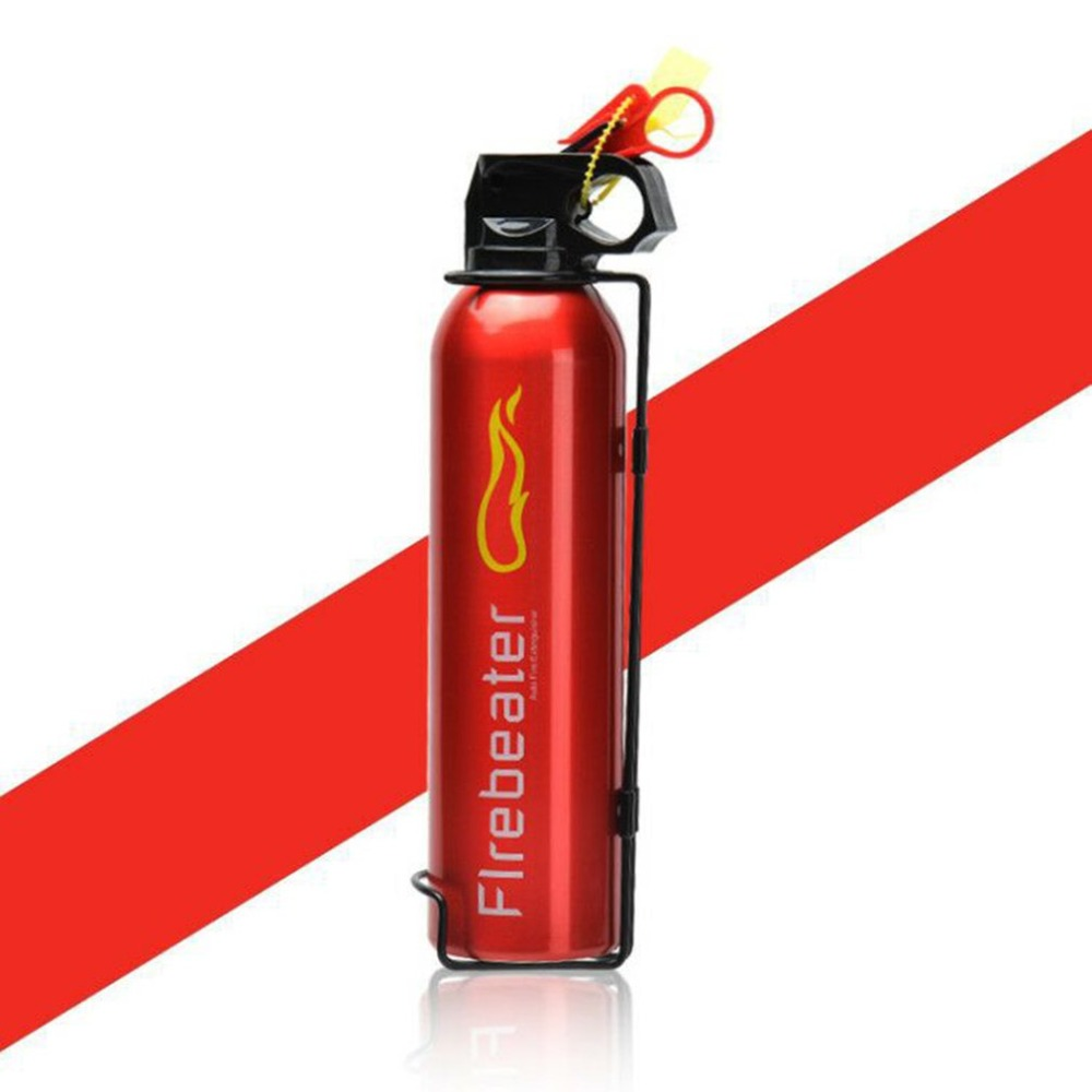 2018 NEW Arrival Portable Household Car Use Powder Fire Extinguisher Compact Fire Extinguisher for Laboratories Hotels RED new 1 5mx1 5m fiberglass household fire blanket emergency survival fire tents personal safety fire extinguisher tents