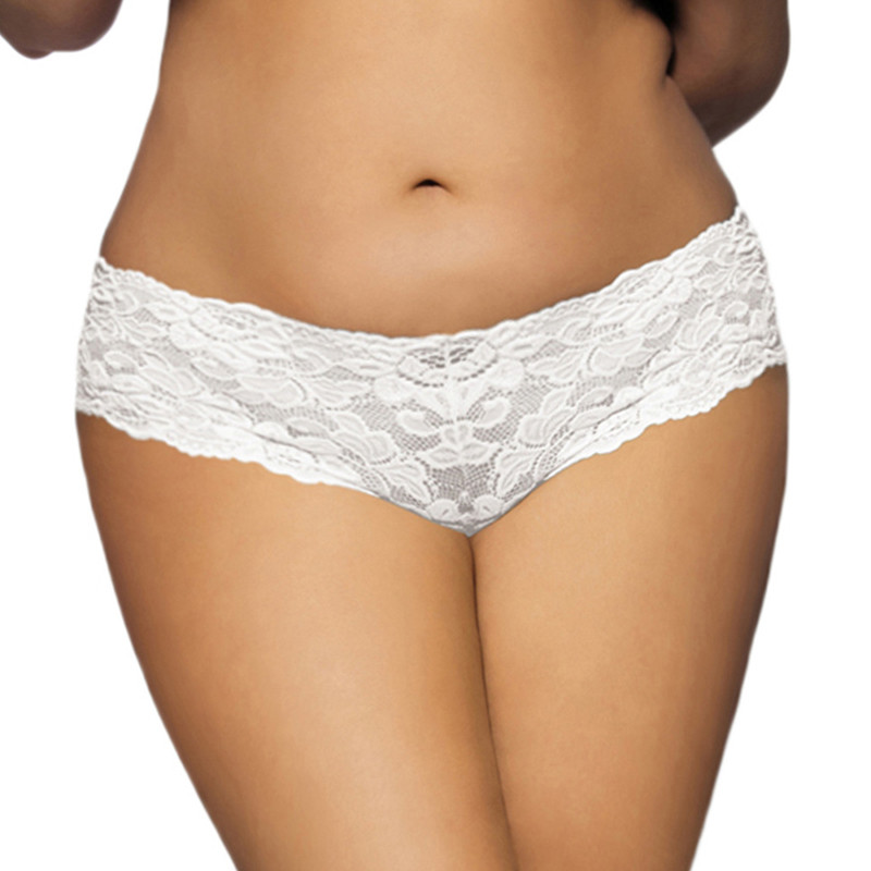Slip en dentelle grande taille très sexy de haute qualité 2