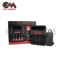 Original Coil Master A4 Charger E Cigarette Charger 18650 26650 Battery Recharge Lithium Battery Intelligent Digicharger
