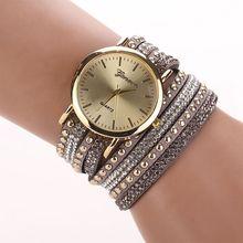 original fashion Bracelet Watches for Lady Fashion Dress  Charming Chain Style Jewelry Quartz Women Watch