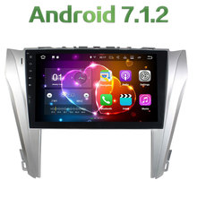 "2 Din 10.1"" 2GB RAM 16GB ROM 4G LTE Android 7.1.2 Quad Core 12V Car Radio Player Bluetooth Stereo FM for Toyota Camry 2014-2015"