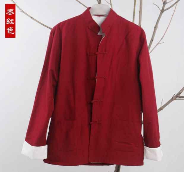 Традиционная китайская одежда костюм кунг-фу Тан мужской повседневный Восточный мужской костюм тай-чи мужская униформа tang zhuang куртка