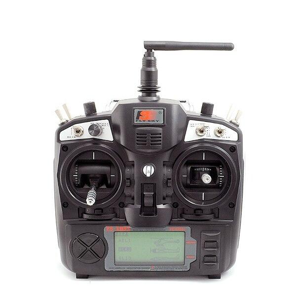 Высокое качество Flysky FS-T6 V2 2,4 ГГц 6CH пульт дистанционного управления передатчик для V959 Syma X1 режим 2 RC модели Quadcopter