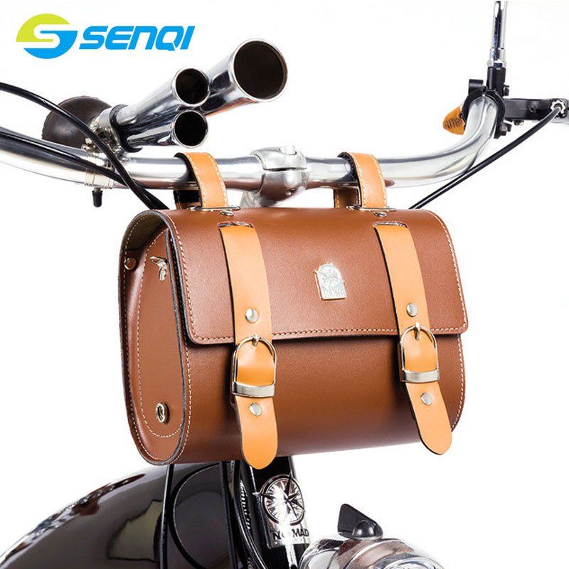 ФОТО Retro bicycle Bag 210*90*160mm Riding Bike Tail Bag Bike Saddle Bag Back Seat Tail Pouch Bicycle Accessories FZB010