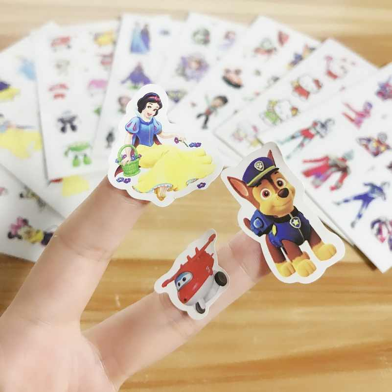 Cartoon Stickers toy Different Sheets Children Stickers Toys Scrapbook Gifts For Kids