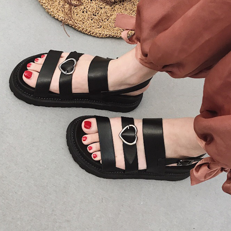 Moxxy Summer Sandals For Women New Shoes Round Toe Sandalias Flat Shoes Roman Sandals Shoe Woman Mujer Ladies Flip Flop Footwear new flip flops summer women sandals 2017 gladiator sandals women shoes bohemia flat shoes sandalias mujer ladies shoes z579