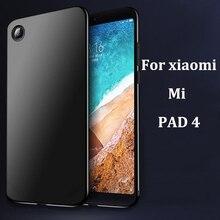 Vogue ultra-thin cellphone instances For xiaomi mi Pad4 case tender again cowl For xiaomi mi pad Four shell case cowl full capas