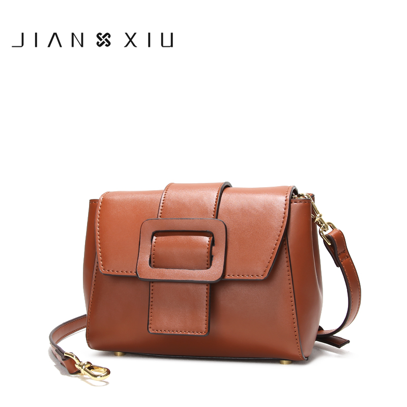 JIANXIU Women Messenger Bags Split Leather Bag Bolsos Mujer Bolsa Sac Tassen Bolsas Feminina Shoulder Crossbody Belt Small Bag feral cat ladies hand bags pvc crossbody bags for women single trapeze shoulder bag dames tassen handbag bolso mujer handtassen