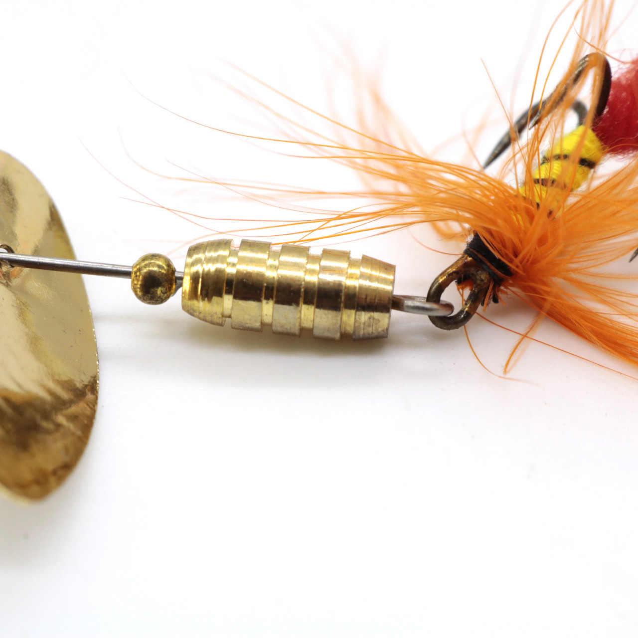 品質スパンコールスプーン釣りルアー金属スピナー羽クランクベイトフィッシングルアー餌ハード魚ルアー 2 グラム 3 グラム 4 グラム 7 グラムタックルペスカ Iscas