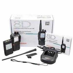 Image 5 - WOUXUN KG 8D בתוספת דו דרך רדיו דיגיטלי Dual Band משדר 999 זיכרון ערוצים UHF/VHF מכשיר קשר חזיר צבע מסך רדיו
