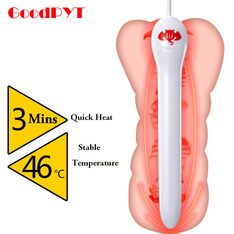 Usb Heating For Realistic Vagina Or Masturbator Cup Smart Thermostat 45 Degrees Sex Products Warmer Heated Bar