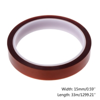 5mm 10mm 15mmx33M Polyimide Polymer Film Tape High Temperature Resistant Insulation Tape Hardware
