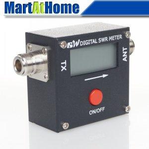 Free Shipping Mini Digital Power & SWR Meter 120W 1051A VHF/UHF For Yaesu FT-8800R/FT-8900R Two Way RF #BV287 @CF