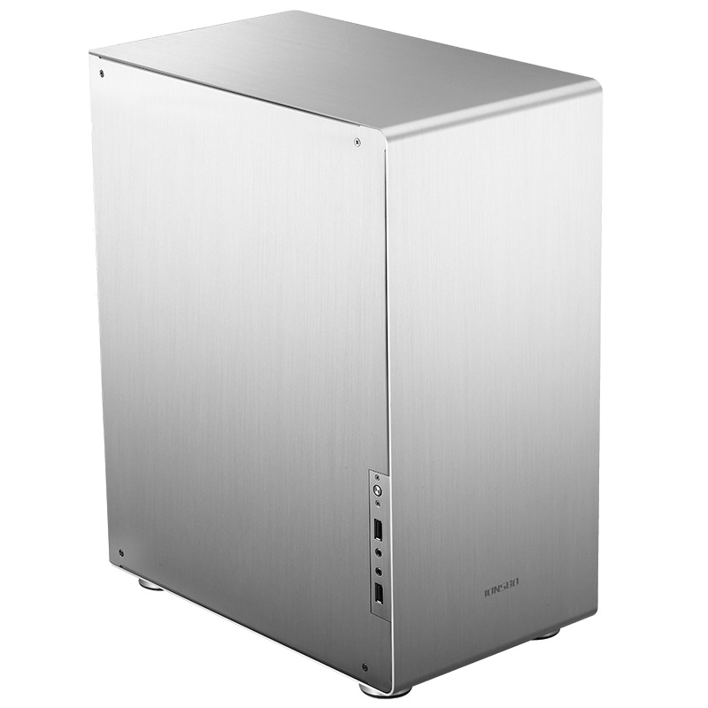 Jonsbo u4 silver non side through THE chassis ATX chassis aluminum enclosure jonsbo rm2 aluminum chassis atx small chassis support atx motherboard atx power supply