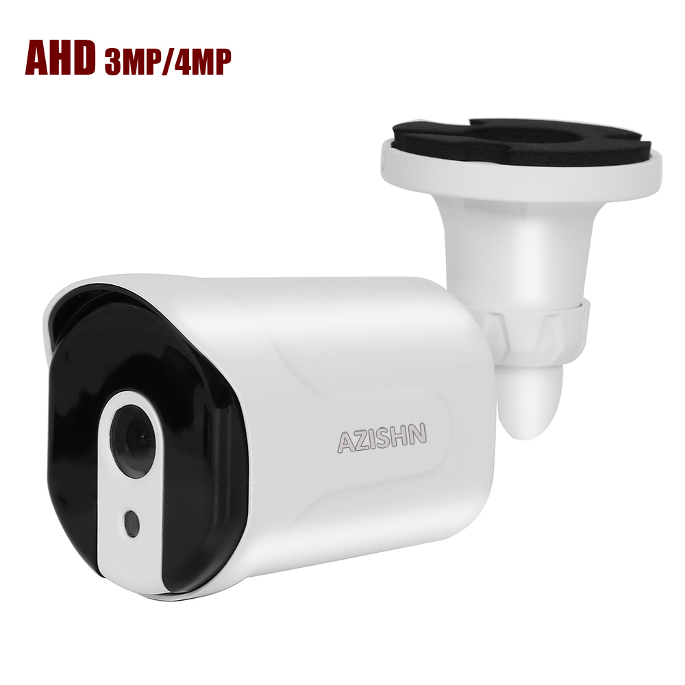 CCTV AHD camera 3MP/4MP 1/3 SC3035/OV4689  metal Waterproof IP66 Outdoor 6pcs array IR leds Security Surveillance Camera IR Cut