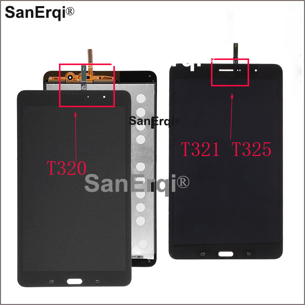 <font><b>LCD</b></font> Display Touch Screen Digitizer Sensoren Montage Panel Für <font><b>Samsung</b></font> Galaxy Tab Pro SM-T320 SM-T321 SM-<font><b>T325</b></font> T320 T321 <font><b>T325</b></font> <font><b>LCD</b></font> image