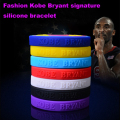 7 Colors Kobel Bryant Bracelets, Basketball Sport Silicone Wristband, Gym Fitness Bands Power Energy Bangles Men