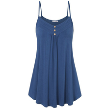 Spring and summer new style European and American explosions solid color V-neck sling dress sexy vest halter top цена и фото
