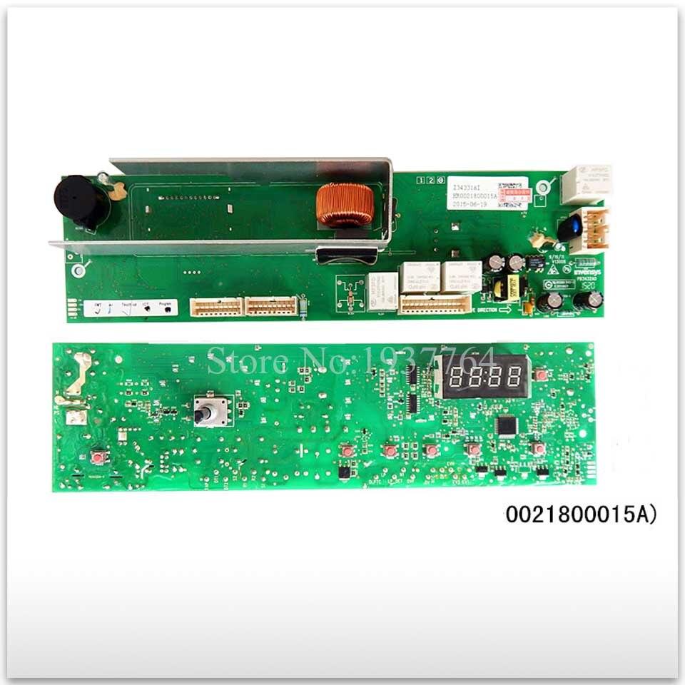 Nieuwe goede Hoogwaardige voor Haier wasmachine Computer boord 0021800015A board en lock-in Wasmachine-onderdelen van Huishoudelijk Apparatuur op  Groep 1