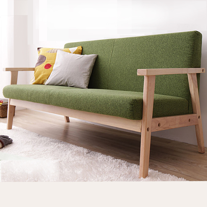 Charmant Simple Detachable Small Sofa, Small Single Solid Wood Sofa  Combination,furniture In Living Room Sofas From Furniture On Aliexpress.com  | Alibaba Group
