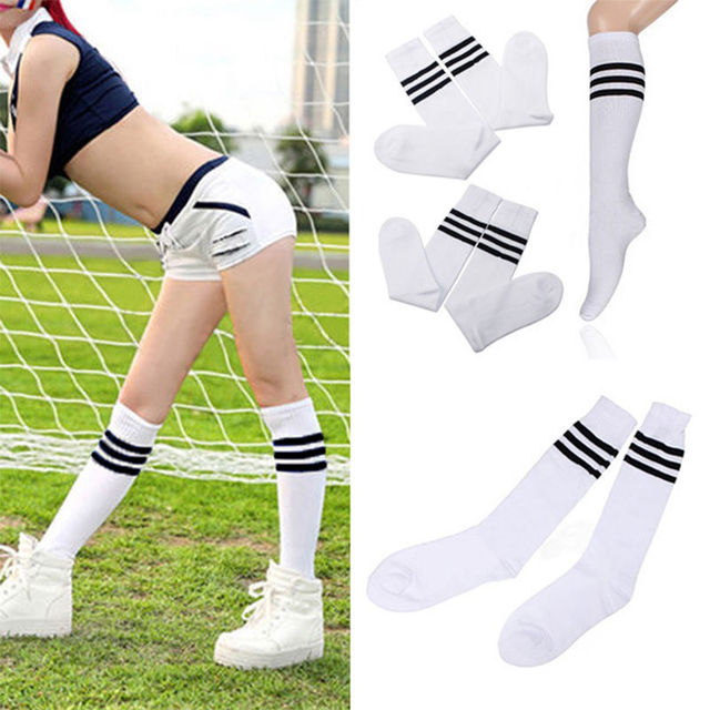 Ankle Soccer Socks Over Knee Football World Cup Sport Cheerleaders