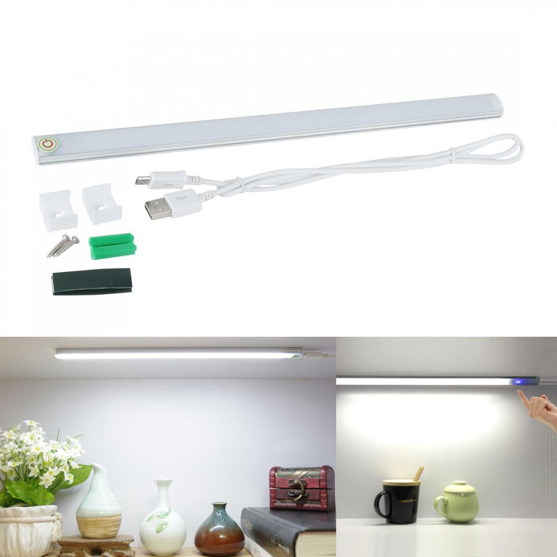 LED apšvietimas LED naktiniai žibintai Dimmable 21 LED jutiklinis jutiklis šviesos stalčiaus spintelė spinta baras lempos USB stovyklavimo šviesa