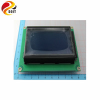 Blue Screen LCD12864 Display Word Backlight 12864 5V ST7920 Parallel Port Uno R3 Atmega Diy Rc