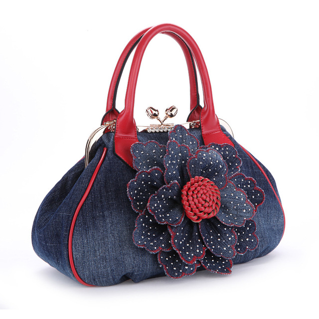 2017 Large Luxury Handbags Women Bag Designer Ladies Hand bags Big Purses  Jean Denim Tote Crossbody Women Shoulder Bags eb0599413de97