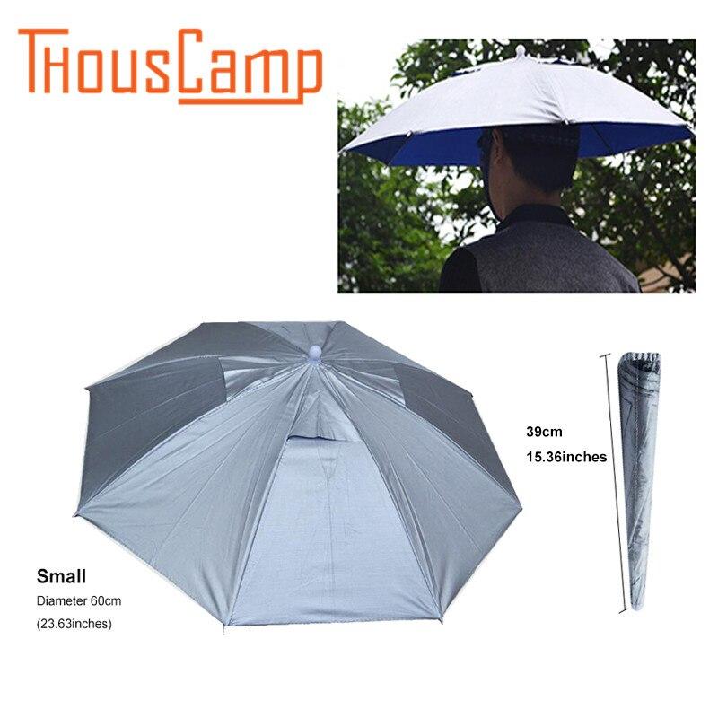 Открытый Рыбалка оборудования Тенты шляпа Рыбалка зонтик шляпа анти-ультрафиолетовая складной солнцезащитный Зонт Hat