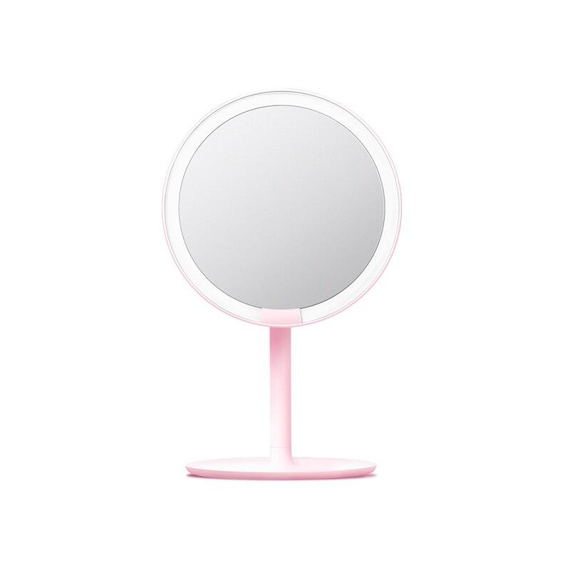 Xiaomi Mijia AMIRO HD Mirror Dimmable Adjustable Countertop 60 Degree Rotating 2000mAh Daylight Cosmetic Makeup Led Mirror 2